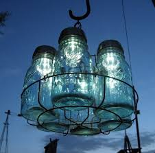 solar lighting ideas mason jar chandelier ball mason jar solar lights