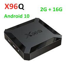 <b>2021 X96Q TV</b> Box Android 10.0 2GB 16GB Allwinner H313 Quad ...