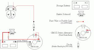 chevrolet alternator wiring diagram wiring diagram 1979 chevy alternator wiring diagram image about