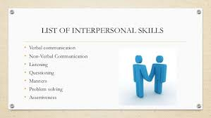 communication and interpersonal skills  relationship others 10 list of interpersonal skills