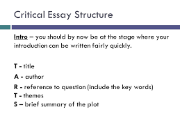 The introduction to an analytical essay should   Academic Writing