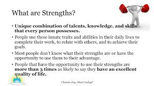harnessing the power of strengths harnessing the power of strengths