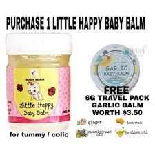 LITTLE <b>HAPPY BABY</b> BALM (GINGER BALM) | Shopee Singapore