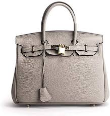 Litchi Cattle Cowhide Handbag <b>Women's Genuine Leather</b> Shoulder ...