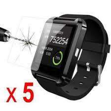5Pcs HD Clear LCD Screen Protector for U8 Bluetooth Smart ... - Vova