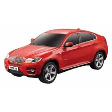 <b>Радиоуправляемая машина Rastar</b> BMW X6 Black 1:24 - RAS-31700