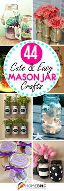 jar crafts home easy diy: mason jar craft ideas diy mason jar crafts pinterest share homebnc
