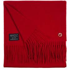 <b>Шарф Graceful</b>, красный (артикул 15897.53) - Проект 111