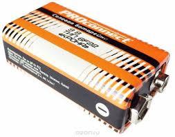 """<b>Батарейка</b> солевая <b>PROconnect</b> """"<b>Крона</b>"""", 9V, 6F22 — купить в ..."""