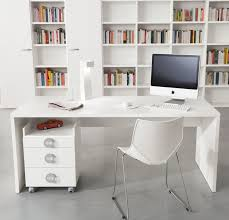 modern home office decoration ideas designing city simple desk and tiny chair facing bookshelves for with beauteous modern home office interior ideas