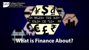 what is finance about what is finance about