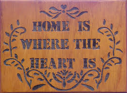words essay on home is where the heart is