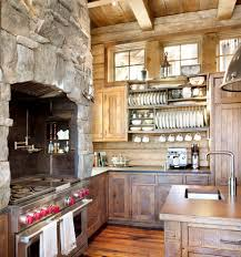 inspired kitchen cdab white brown: cabin kitchen cabinets kitchen rustic with cabin exposed beams kitchen