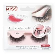 «Kiss <b>Накладные ресницы</b> (<b>Looks so</b> Natural / Eyelashes Flirty ...
