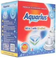Купить <b>Таблетки для</b> ПММ <b>Aquarius</b> All-in-1 по супер низкой цене ...