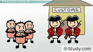 boston massacre colonists and the declaratory and townshend acts boston massacre colonists and the declaratory and townshend acts video lesson transcript com