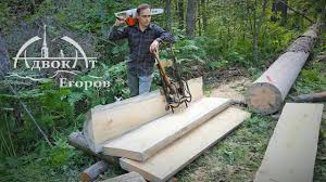 Two <b>Chainsaw</b> Secrets | Turning a Tree into Perfect Boards - YouTube