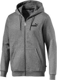<b>Толстовка</b> мужская Puma Essentials Fleece <b>Hooded</b> Jkt, цвет ...