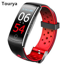 <b>Tourya</b> Q8S <b>Smart</b> Bracelet IP68 <b>Waterproof Smart</b> Band Fitness ...