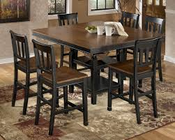 tabacon counter height dining table wine: owingsville  piece counter extension table set by signature design by ashley