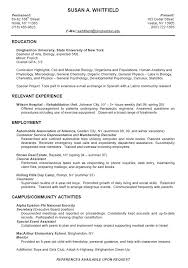 high school college resume format high school resume work resume format for high school student