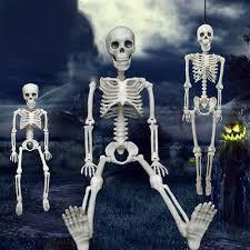 Life Size Hanging Skull <b>Halloween Horror</b> Ghoul <b>DECORATION</b> ...