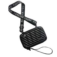 Flywill <b>Women's Crossbody Bag</b>, PC Hard Cosmetic Case Portable ...