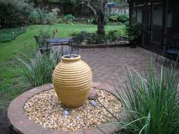 landscape water features patio  patio water feature with water feature brick paver patio outdoor livi
