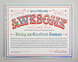 17 best ideas about certificate design certificate get your super tricked out certificate of awesomeness from jessica hische holographic silver foil