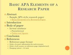 term paper apa format FAMU Online APA Format Research Paper Outline Template