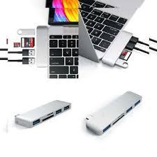 <b>Satechi</b> Type-C USB 3.0 <b>3</b> in 1 <b>Combo Hub</b> for MacBook Air Pro ...
