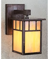 shown in mission brown finish gold white iridescent glass and double t bar accent arroyo craftsman lighting