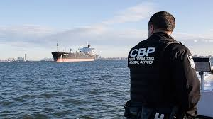 at ports of entry u s customs and border protection officer views incoming tanker