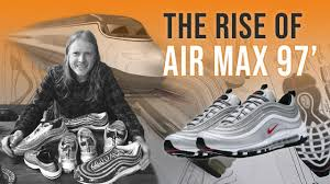 nike air max 97 premium men running shoes comfortable breathable shock absorption sneakers 312834 008