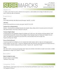 photography photography resume template