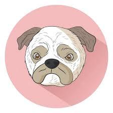 Free <b>Pug dog</b> Graphic Vector - Stock by Pixlr