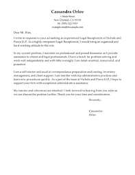 legal receptionist cover letter examples legal cover letter legal receptionist cover letter examples legal cover letter samples inside legal cover letter sample