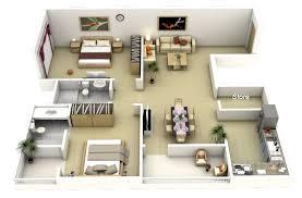 Two  quot   quot  Bedroom Apartment House Plans   Architecture  amp  Design  Large   Bedroom Apartment Plan