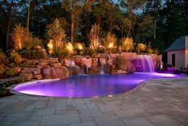gorgeous vintage stone closed amusing pool plus wonderful landscape lighting ideas and usual floortile model awesome modern landscape lighting design