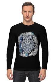 <b>Лонгслив</b> Doodle <b>Owl</b> #641471 от ArtBYtik по цене 1 559 руб. в ...
