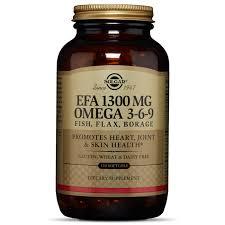 <b>1300 mg</b> Omega 3-6-9 Softgels - <b>Solgar</b>