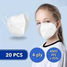 <b>20 Pcs</b> Disposable Face Masks for <b>Kids</b> (<b>KN95</b>) – Next Deal Shop EU