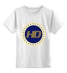 Детская <b>футболка классическая</b> унисекс <b>Printio High</b> Definition ...