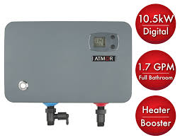 <b>ATMOR</b> 10.5 <b>kW</b>/240-Volt 1.7 GPM Electric Tankless Water Heater ...