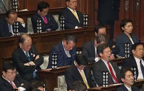「日本の居眠り国会質疑応答」の画像検索結果