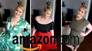 Plus <b>Size</b> Spring <b>Amazon</b> Try On Haul - YouTube