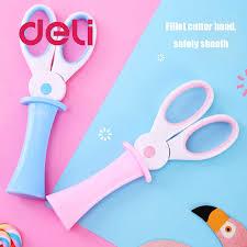 <b>Deli</b> 2 шт., детские <b>ножницы</b> ручной работы, милый мультфильм ...