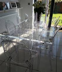 perspex dining table acrylic furniture uk