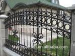 Porte coulissante en fer forge design