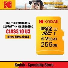 100% Kodak 32GB 64GB 128GB 256GB 512GB <b>TF Micro SD</b> card ...
